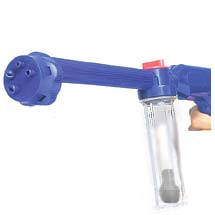 Euro Blaster, $16.95, Adjustable spray head with four different spray patterns to tackle all those dirty jobs! 