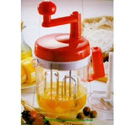 Mixer Plus, $14.95, Mix, Chop, Blend... to make cookies, whip eggs, make fluffy pancake batter, mix drinks, chop fruits, vegetables, or nuts.