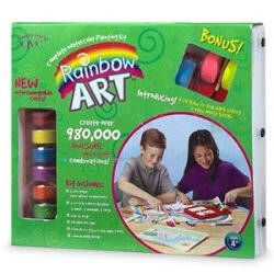 Rainbow Art Kit only $12.45