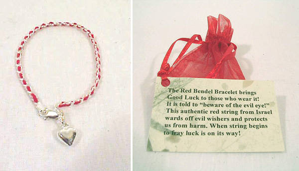 The original Red Bendel Bracelet from Jerusalem.