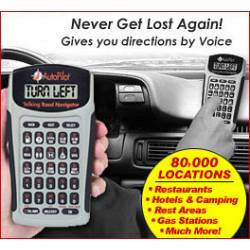 Auto Pilot Talking Road Navigator from Gift Find Online